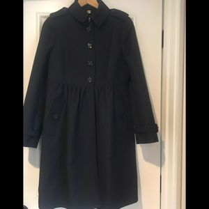 Burberry Prorsum Black Trench *Like New*